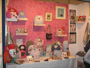 Our stand at Hidden Art 2007