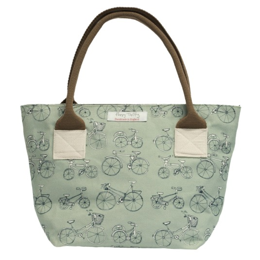 Sara's favourite bicycle Long rock tote bag