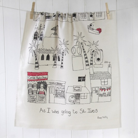 St-Ives-landmarks-tea-towel